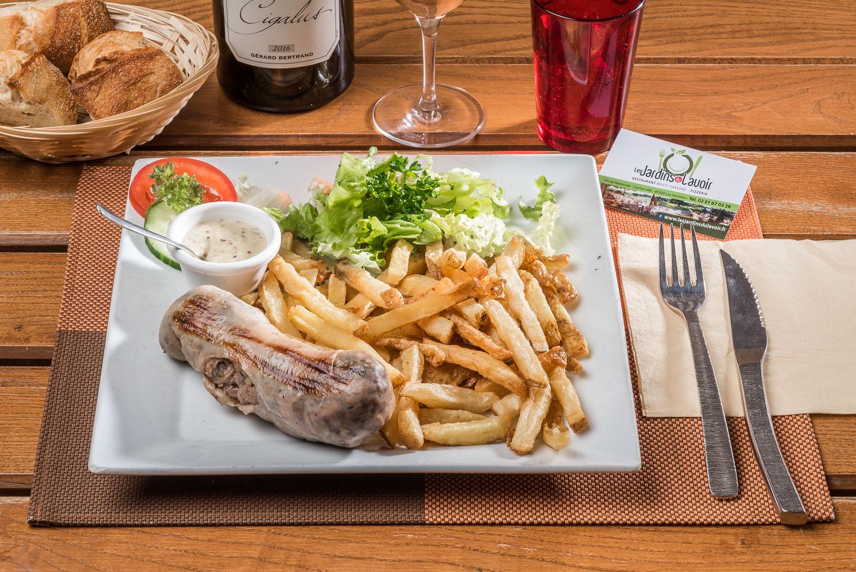 """Restaurant pizzeria """"Les Jardins du Lavoir"""" aux Herbiers ..."""