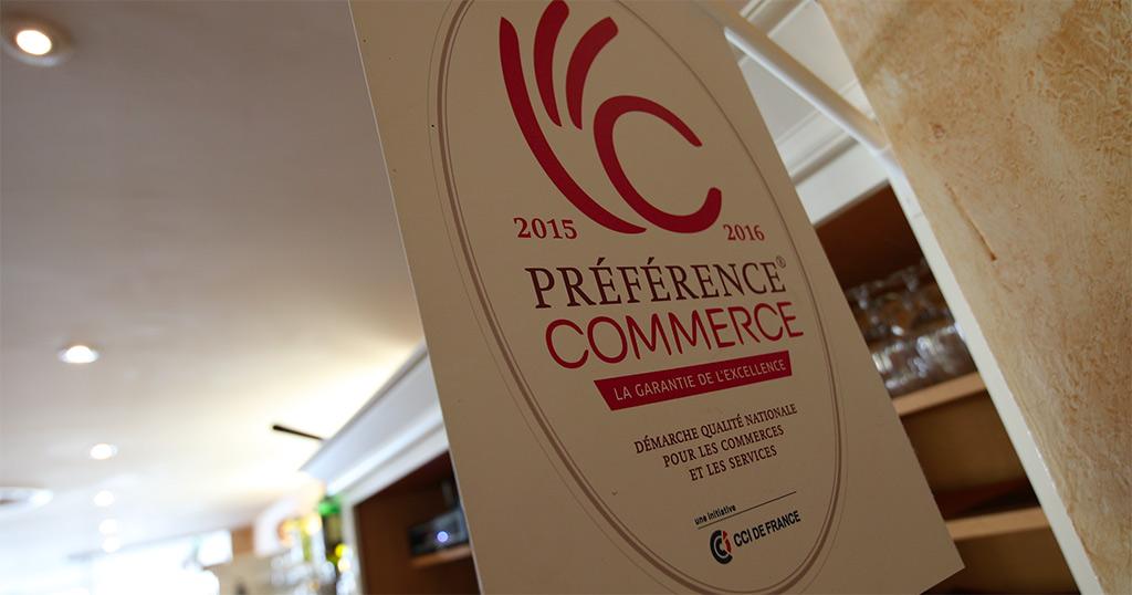 Label de qualité Préférence Commerce